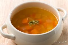 タマネギとニンジンのスープ
