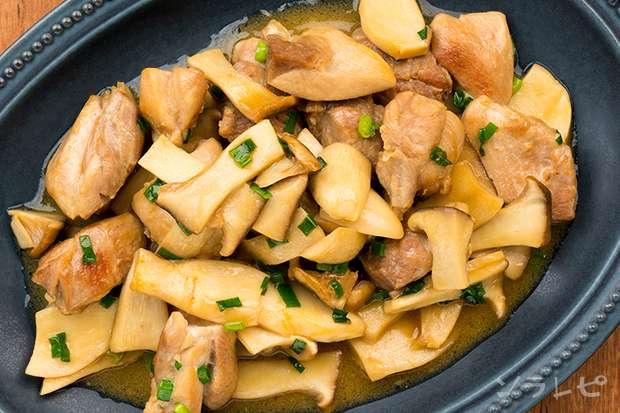鶏肉とエリンギのマヨポン炒め_main2