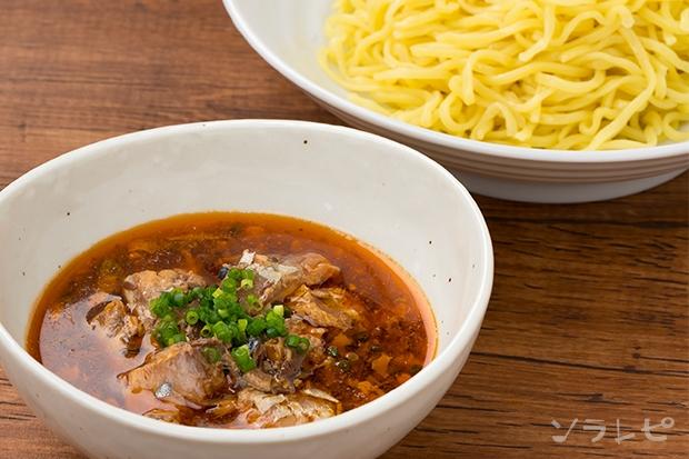 ピリ辛サバ缶つけ麺_main1