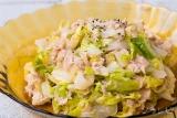 白菜とツナの和風サラダ