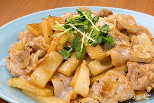 豚肉と長芋のオイスター炒め_main1