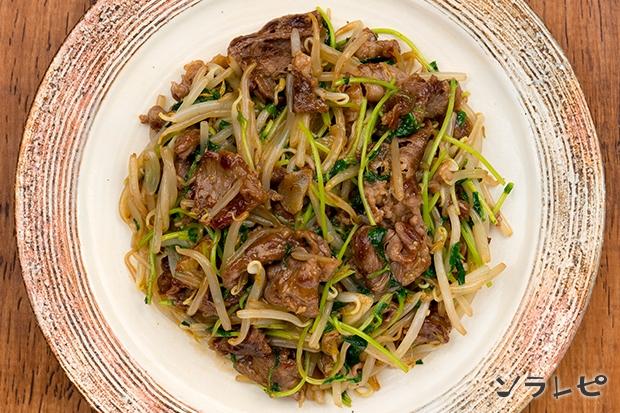 牛肉ともやしの中華炒め_main2