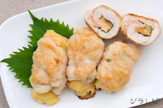鶏ささみのしそ明太チーズ焼き_main2