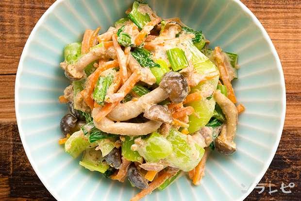 チンゲン菜とツナのごまマヨサラダ_main2